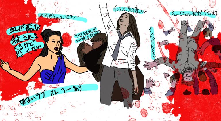 アナと世界の終わり2019ネタバレと感想レビューとイラスト